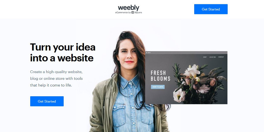 Weebly free website builder