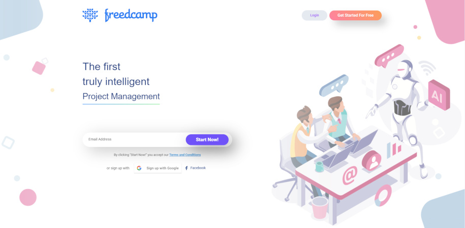 Freedcamp free project management tool