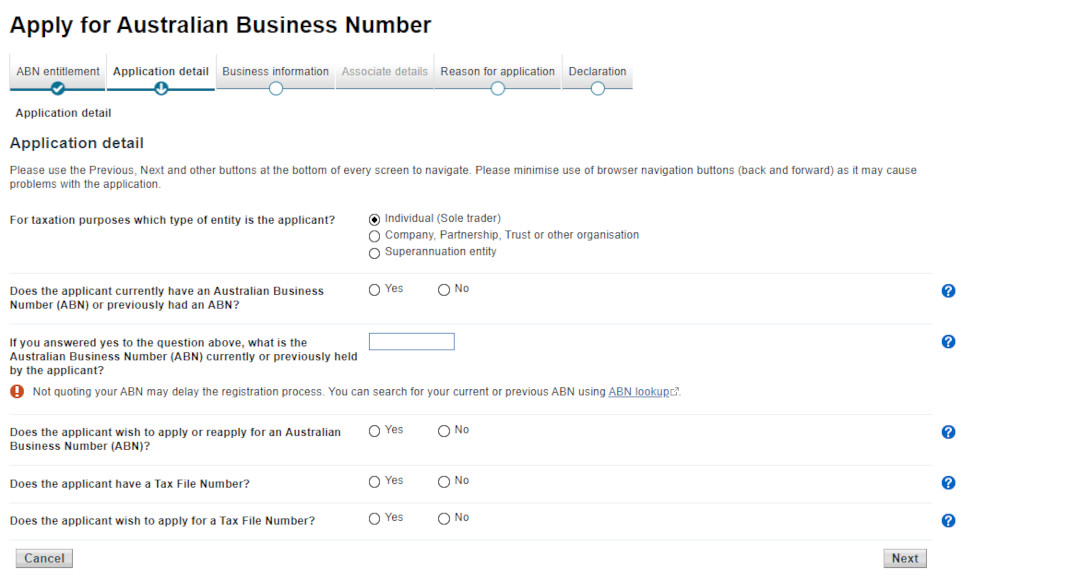 Answer more abn questions