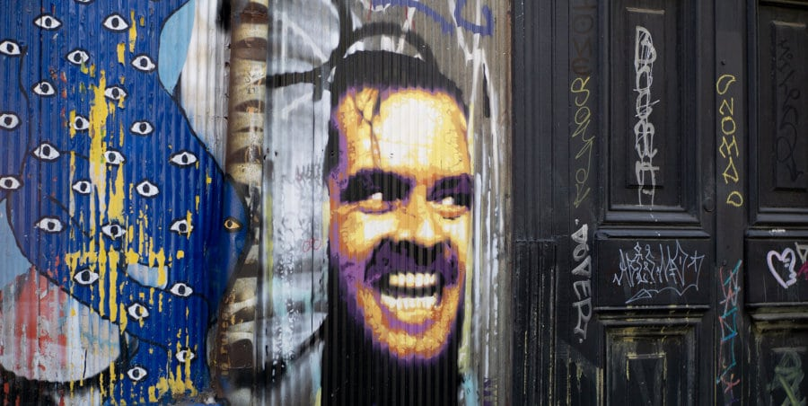 Graffiti of the shinning by stephen king