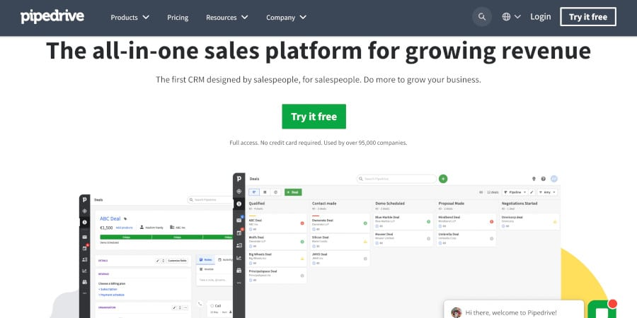 Pipedrive crm review